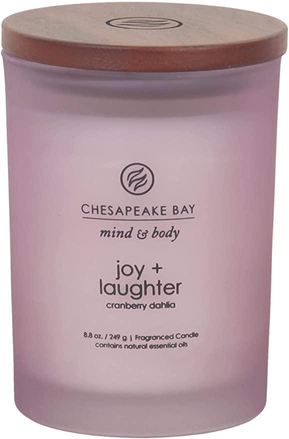 chesapeake bay joy laughter candle